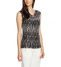 s.Oliver Premium T-Shirt Femme imprimé Noir - 06-606-33-5177-99B6