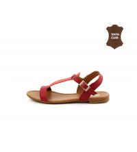 FIORE Sandales plats Rouge