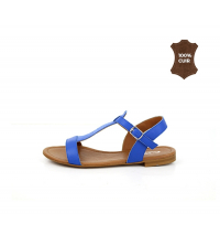 FIORE Sandales plats Bleu
