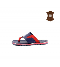 Mules Bleu & Rouge - 024-BR