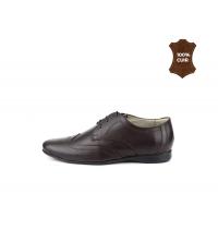 Chaussures à lacets Classique Marron 701-M