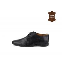 Chaussures à lacets Classique Noir 701-N