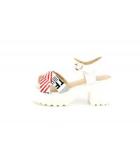 Sandales à talon - 085-1-BC