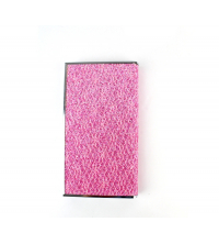 POWER BANK SIMILI-CUIR Rose 4000 mAh