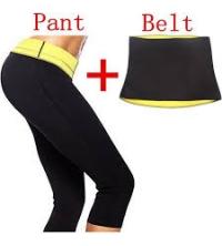 Pantalon et ceinture d'amincissement