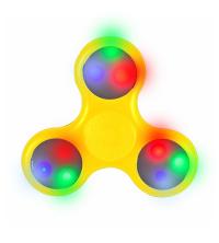 hand spinner LED