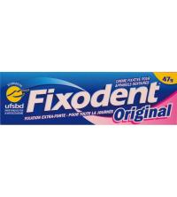 Fixodent Original Crème Adhésive pour Prothèses Dentaires