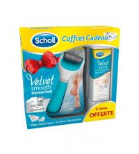 coffret Scholl rape éléc avec Crème hydratante