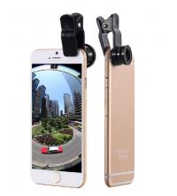 Kit 3 en 1 Objectifs Fisheye Smartphone Universel