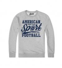 Sweatshirt Gris American football Sport