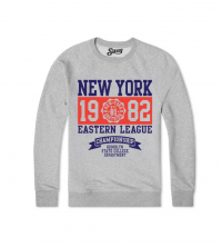 Sweatshirt Gris NEW YORK 1982