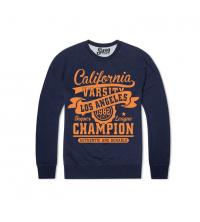 Sweatshirt bleu marine California