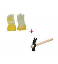 Pack gant solide de travaux + marteau enlève cloue