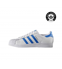 ADIDAS Basket homme Blanc & Bleu