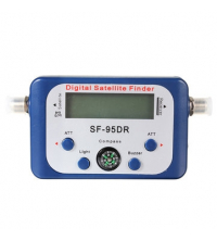 Vanble SF-95DR Pointeur Satellite Digital , Viseur Numérique Par Satellite écran LCD Viseur satellite avec compteur Satfinder