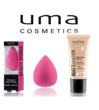 Mattisfaction Make-up et Éponge Beauté