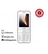 IKU Téléphne portable R200 SPARK Blanc