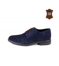 Chaussure Homme Daim Bleu