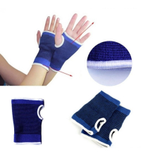 2X Protège Poignet Paume Protection Mitaine Support Elastique Gants de Sport Gym