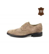 Chaussure Homme Daim Beige