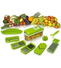 Genius Nicer Dicer Smart | Appareil découpe-légumes | Trancheuse | Mandoline | Cubes | Tranches | Bâtonnets | TV | Neuf