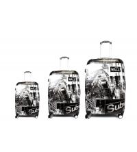 3 pièces valises de voyage