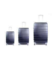 3 pièces valises de voyage bleu marine