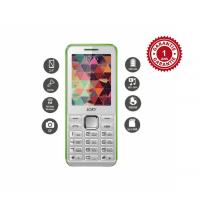 Téléphone classique Blanc & Vert