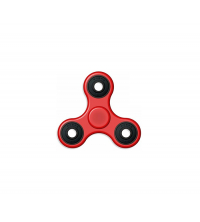 Jouets Hand Spinner Rouge