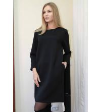 Robe noir simple pour femme