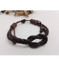 Bracelet Homme Force Dark Brown
