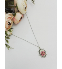 Collier Mini rose