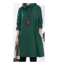 Robe Milano vert pour femme