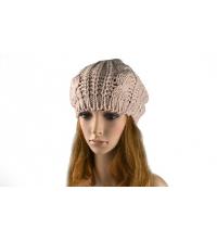Bonnet beige en laine