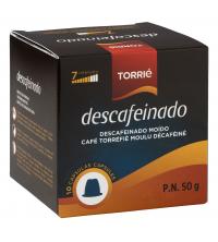 10 Capsules Torrié Décafeiné- Compatible nespresso