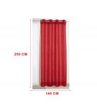 panneaux de rideaux Rouge bordeaux