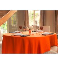 Nappe Ovale Orange