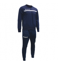 Jogging Training Pour Homme Givova One Marine / Blanc