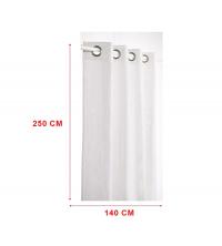 panneaux de rideaux Blanc