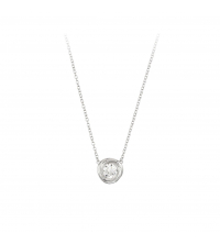COLLIER CRYSTAL SOLITAIRE