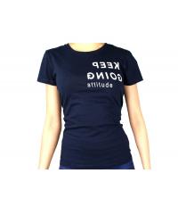 T-shirt Femme Bleu marine