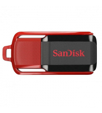 SanDisk Clé USB Cruzer SWITCH 16 GO - Noir & Rouge