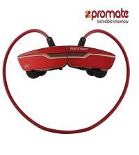 Promate Écouteur sans fil ergonomique léger -Match- Bordeaux