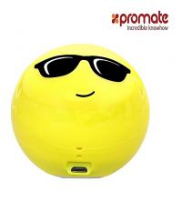 Promate Mini haut-parleur sans fil - Cool Classic - Jaune