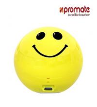 Promate Mini haut-parleur sans fil - Smiloji - Jaune