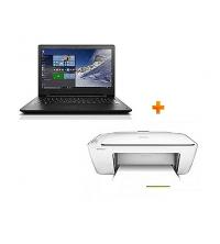 Lenovo Lenovo Pack PC portable - Noir / Imprimante multifonction - IdeaPad 110