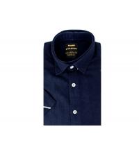 Chemise demi-manche homme Bleu Marine