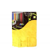 Panneau Rideau imprimé jaune