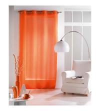 panneaux de rideaux Orange voile