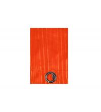 Panneau de rideau voile Orange Rayé